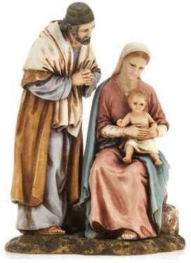 Sainte Famille Landi statue
