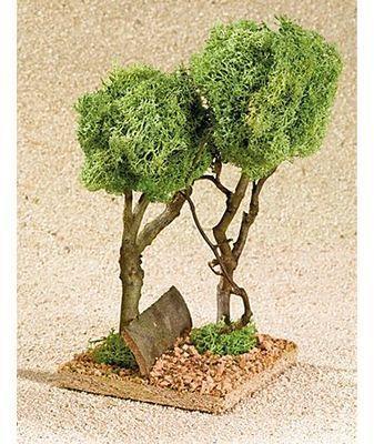 2 arbres miniatures