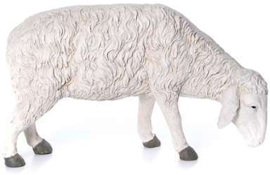 Santon mouton qui mange Martino