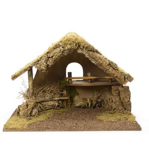Crèche de Noël Bois 65 x 38