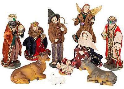 Set de figurines pour crèche