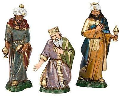 Figurines les 3 Rois mages