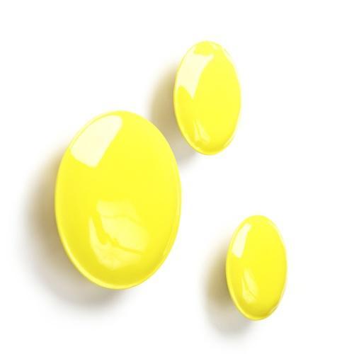 Pin - Set de patères - jaune