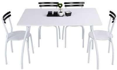 Ensemble table 4 chaises SUN