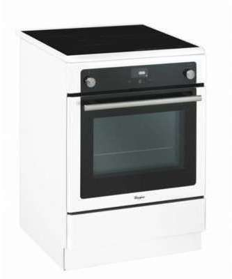 Whirlpool AXMT6634WH - Cuisinière