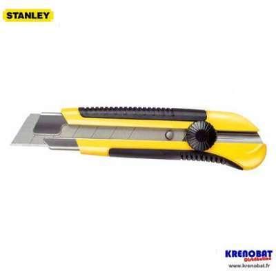 Cutter 25 mm bimatière STANLEY