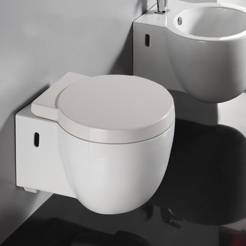 WC Suspendu Compact - Avec