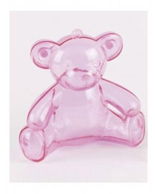 3 boîtes oursons en plastique