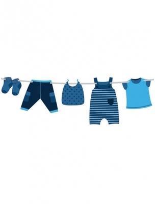 Guirlande Baby Boy 3m Taille