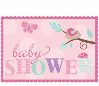 8 Invitations baby shower