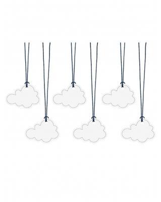 6 Etiquettes nuage Taille