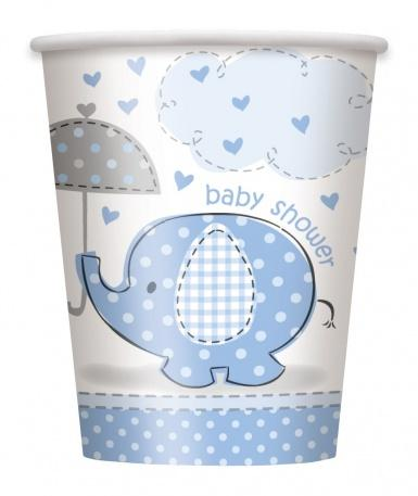8 Gobelets carton Elephant