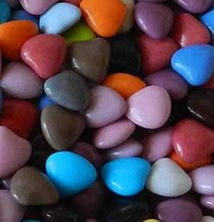 Dragées mini cur chocolat