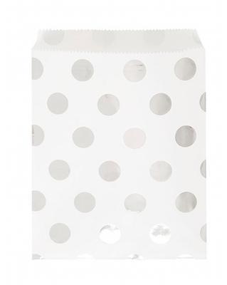8 Sacs à friandises blancs