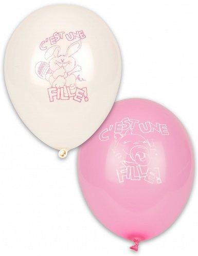10 Ballons C est une fille