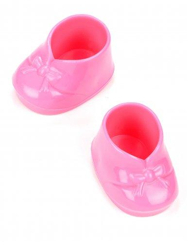 2 Petits Chaussons roses