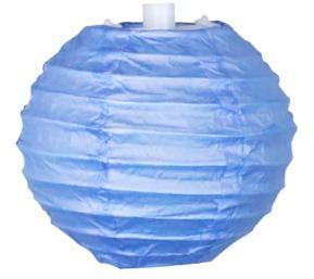 Boule Papier 10cm Bleu Lavande