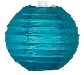 Boule Papier 10cm Bleu Pétrole
