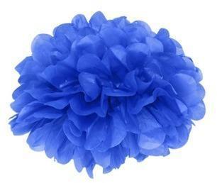 Pompons Bleu Lavande 20cm