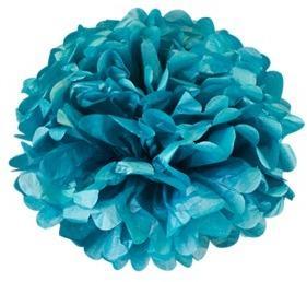 Pompons Bleu Lavande 30cm
