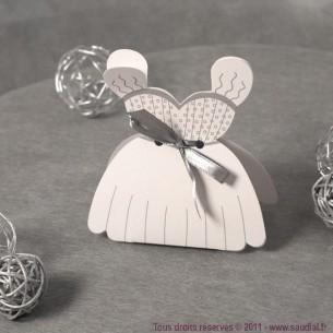 Boîte robe de mariée