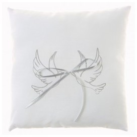 Coussin alliance colombes