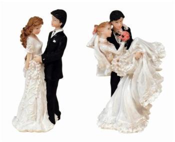 Couple marié vogue résine