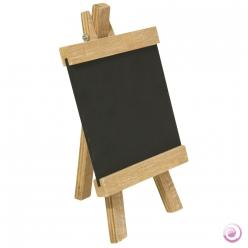 Chevalet en bois avec ardoise