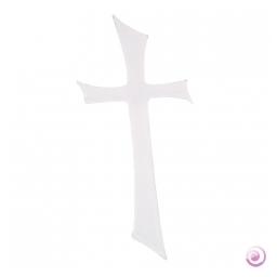 Motif de cire Croix 15x7 cm