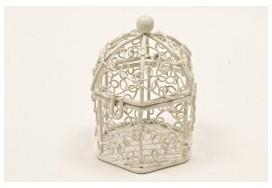 Mini cage oiseaux en métal