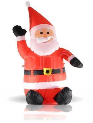 Père de Noël gonflable XL