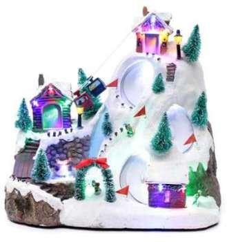 Village Noël lumineux musical