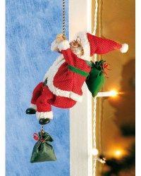 Père Noël grimpant Santa Crawl