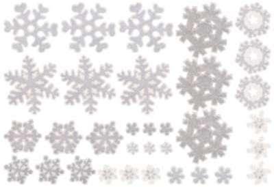 33 stickers de fenêtre 3D