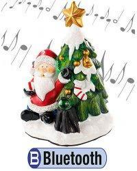 Décoration de Noël avec haut-parleur