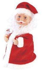 Père Noël chantant et dansant