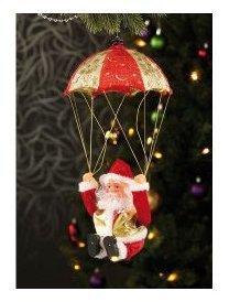 Père Noël en parachute Santa
