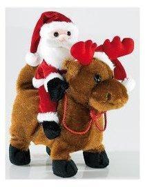 Père Noël Salto Claus sur
