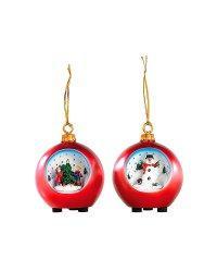 Set de Boules de Noël à ciel