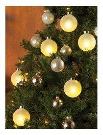 6 Boules de Noël lumineuses