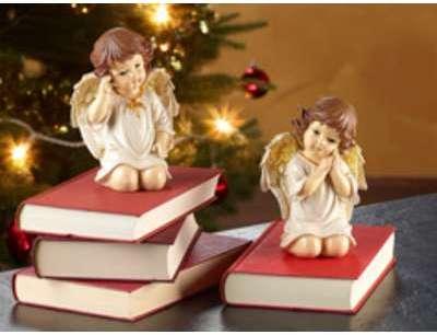 2 anges de Noël décoratifs