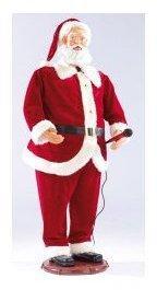 Père Noël géant avec fonction
