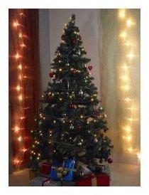 Sapin de Noël artificiel avec