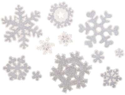 11 stickers de fenêtre 3D