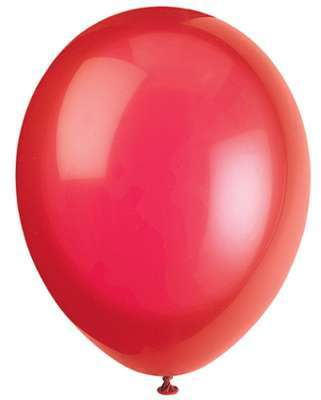 50 Ballons Crystal Rouge