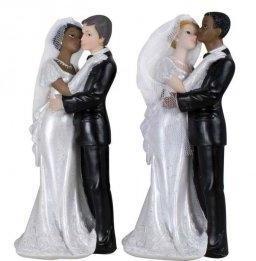 Figurine Mariage Mixte 2 Modèles