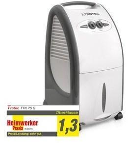 Déshumidificateur TTK 75 S