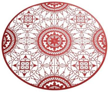 Italic Lace Round Placemat
