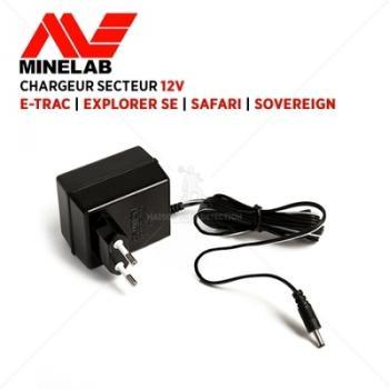 Chargeur 12 V MINELAB E-Trac
