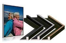 Photo sur toile 60x60 cm (cadre